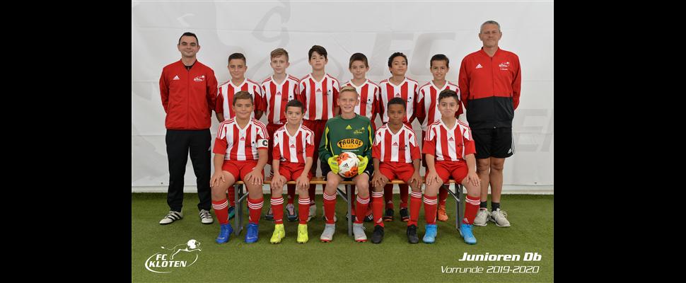 Team Präsentation<br>FC Kloten Junioren Db