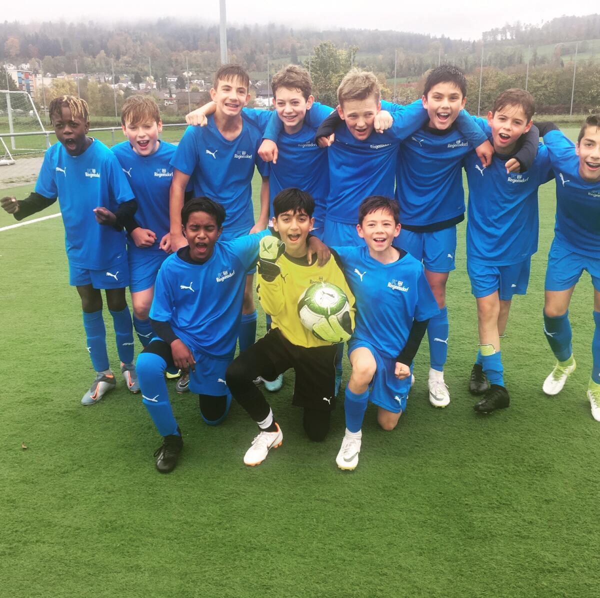Team Präsentation<br>FC Regensdorf